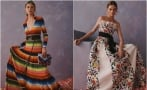 Sarapes, tenangos, and cempasuchil at Carolina Herrera's latest collection