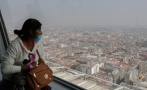 Mexico City's air pollution levels exceed WHO standards by far