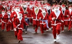 The Santa Run, carrera