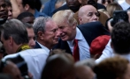 Donald Trump y Mike Bloomberg