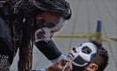 Mexico City celebrates Day of the Dead with body art