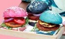 Mexico City restaurant introduces multi-color Veggie Burgers