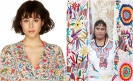 United Colors of Benetton uses Mexican embroideries in bikini