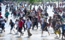 Hundreds of US-bound Central American migrants enter Mexico via Guatemala