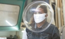 Mexicans design innovative COVID-19 face shields