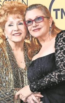 "Debbie Reynolds y Carrie Fisher tendrán un funeral ""ultra-privado"""
