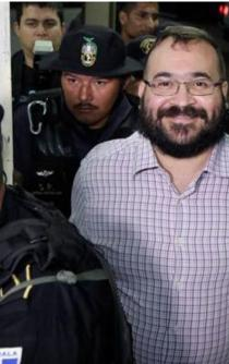 Javier Duarte accepts extradition to Mexico