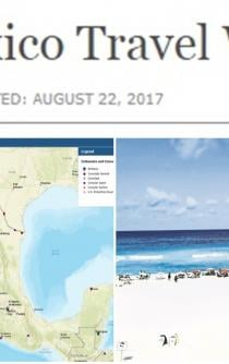 US Department of State updates Mexico Travel Warning