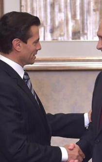Peña and Putin acknowledge investment opportunities