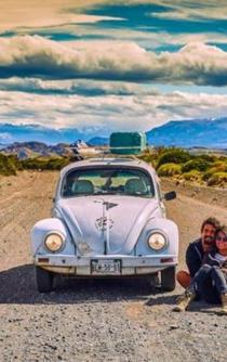 """Mexican couple travels Latin America in their """"Vocho"""""""