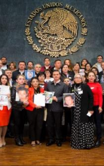 Enrique Peña Nieto signed into effect Law on Forced Disappearance