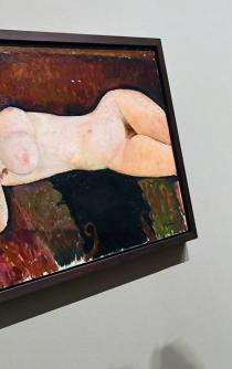 """Modigliani"", de sus memorables desnudos a un estudio virtual"