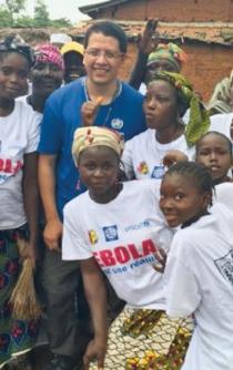 The Mexican who fought Ebola in Guinea