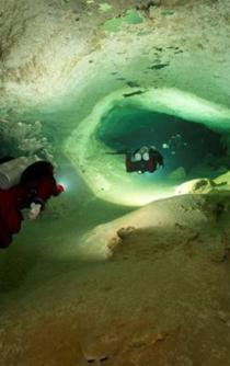 Underwater cave could reveal prehistoric fauna