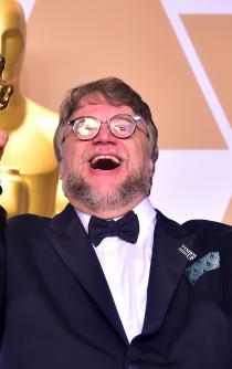 And the Oscar goes to...Del Toro and his monster