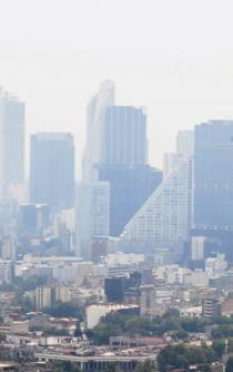 Why are there pollution spikes in the hottest months?