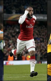 Marsella vence; Arsenal y Atlético empatan en Europa League