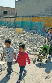 Home reconstruction for earthquake victims is left incomplete