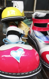 The art of making clown shoes