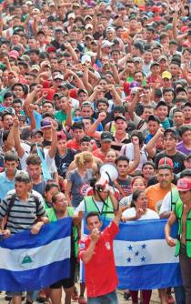 A third migrant caravan is on its way to the US