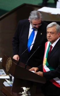 López Obrador sworn in as President of Mexico