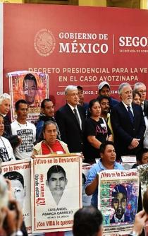 A glimmer of hope for Ayotzinapa