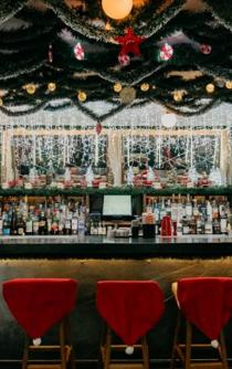Christmas pop-up bar Miracle arrives in Mexico City