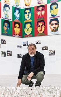 Ai Weiwei creates Lego portraits of missing Ayotzinapa students