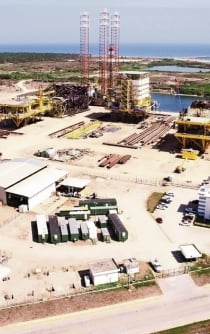 Mexico starts the construction of the Dos Bocas oil refinery