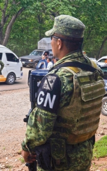 Mexico's National Guard seals off 23 municipalities along border with Guatemala