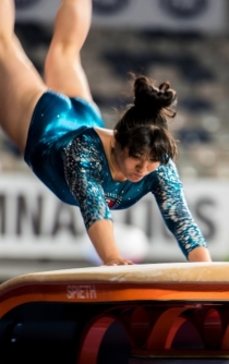 Mexican gymnast Alexa Moreno wins medal in Korea
