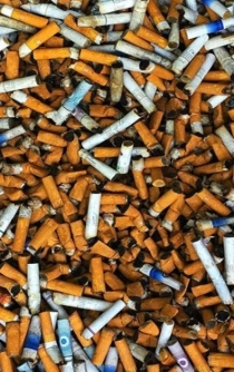 Mexican company recycles cigarette butts to help the environment
