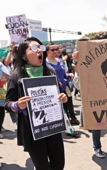 Mexico City: Sexual abuse is on the rise