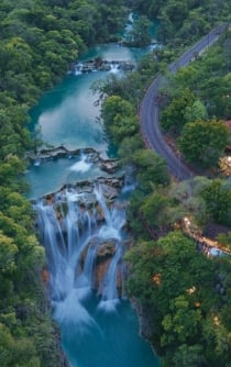Visit one of Mexico's most beautiful waterfalls