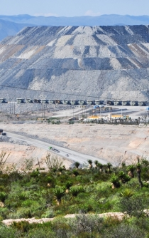 Blockade ignites temporary suspension at Peñasquito Mine