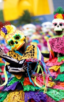 Great Day of the Dead Parade in Mexico City