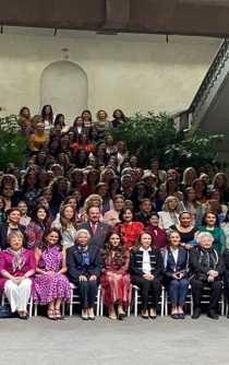 Women leaders raise their voice against gender violence in Mexico